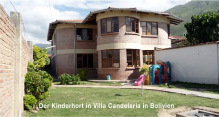 Der RC Oberthurgau finanziert die Sanierung des Kinderhortes in einem Schulzentrum in Villa Candelaria im Hochland von Bolivien.