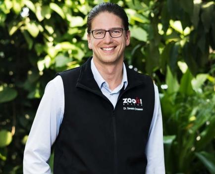 Severin Dressen, Direktor des Zoo Zürich
